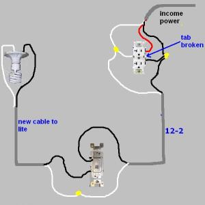 Adding A Light Fixture Wiring Question  Electrical  DIY Chatroom Home Improvement Forum