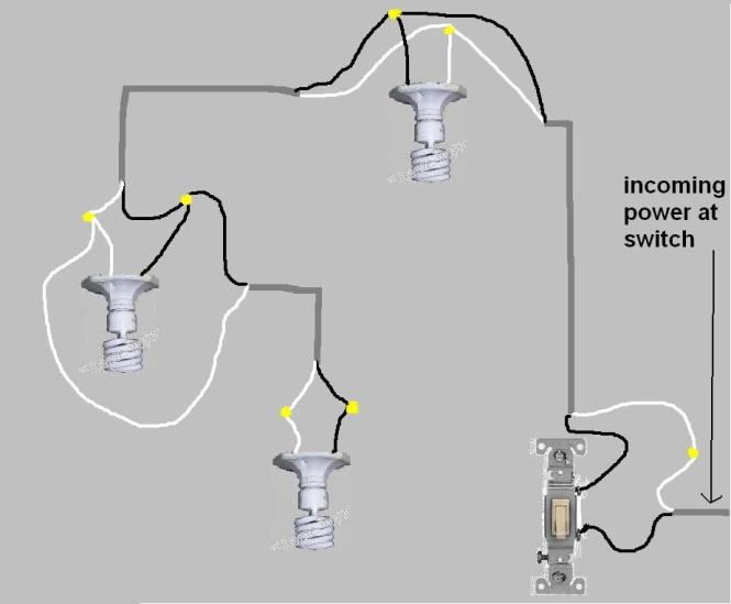 wiring multiple lights to one switch diagram wiring wiring multiple lights to one switch diagram wiring diagram on wiring multiple lights to one switch