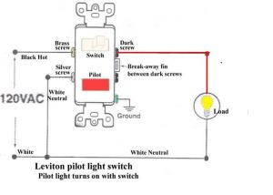 How To Wire A Switch With A Pilot Light  Electrical  DIY