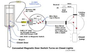 Automatic Closet Lights  Electrical  Page 3  DIY