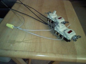 Wire Two 3way Switches Both With Pilot Lights  Electrical