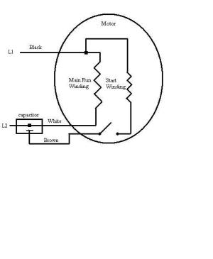 Need Help Wiring Old 220v Fan Motor  Electrical  Page 2  DIY Chatroom Home Improvement Forum