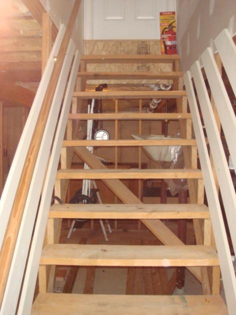 Basement Stair Fininshing Advice Skirt Board Building