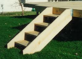Pre Frame Deck Stairs Building Amp Construction Diy
