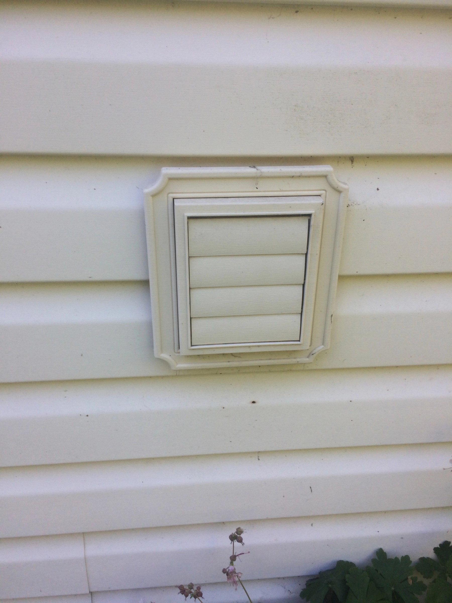 vinyl siding dryer vent diy home