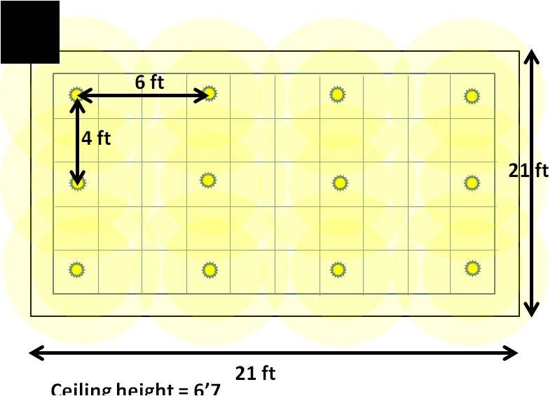 ceiling can light layout swasstech