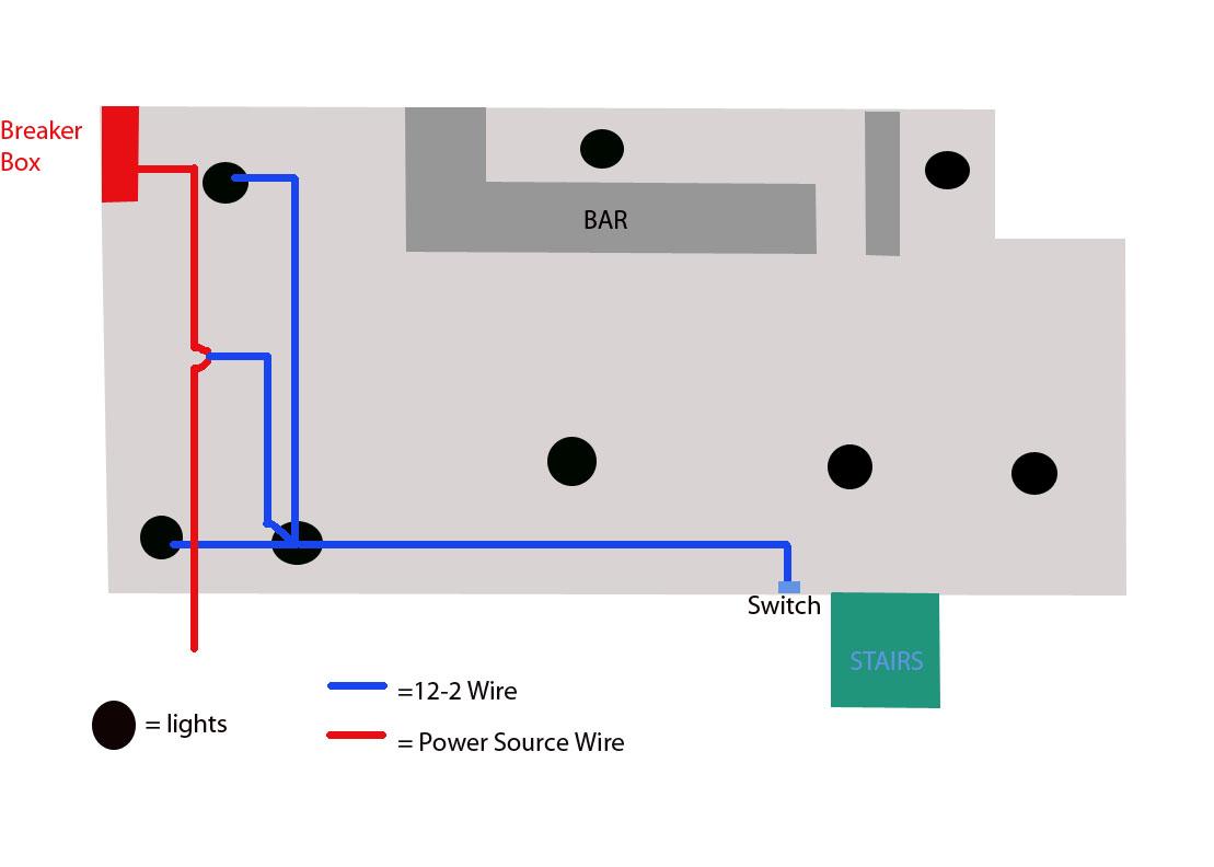 help wiring 3 recessed lights diy