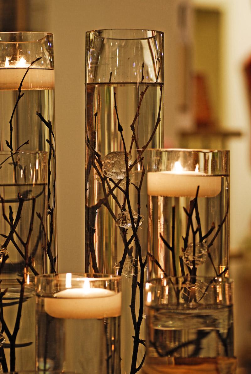 Christmas Floating Candles.10 Diy Christmas Centerpieces Diy Christmas Decorations