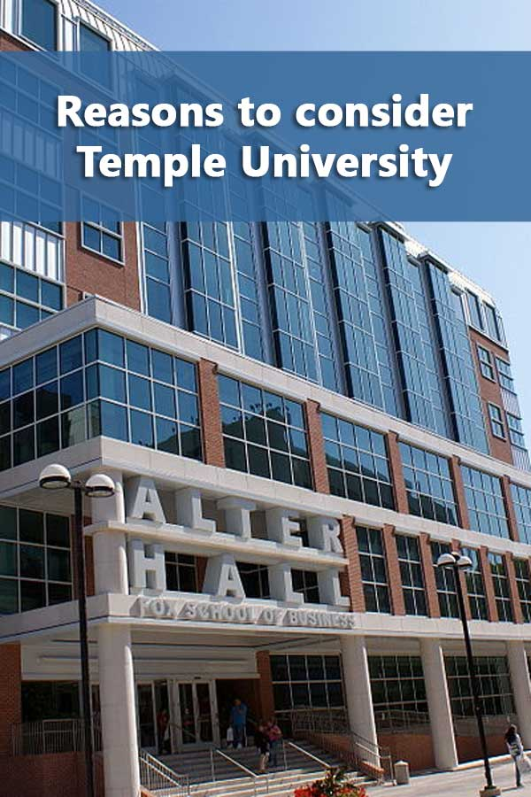 50-50 Profile: Temple University