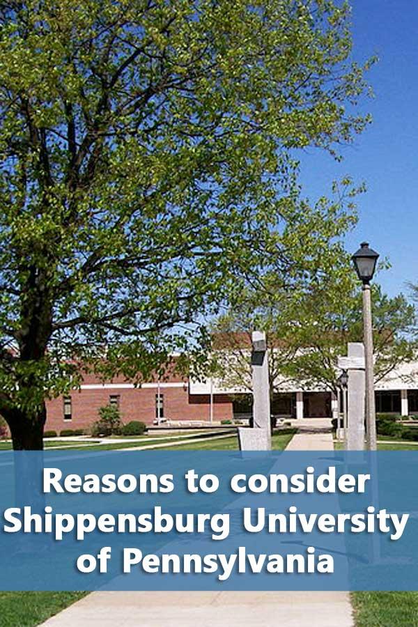 50-50 Profile: Shippensburg University