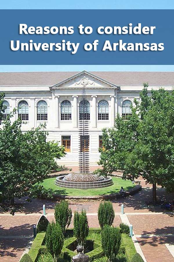 50-50 Profile: University of Arkansas