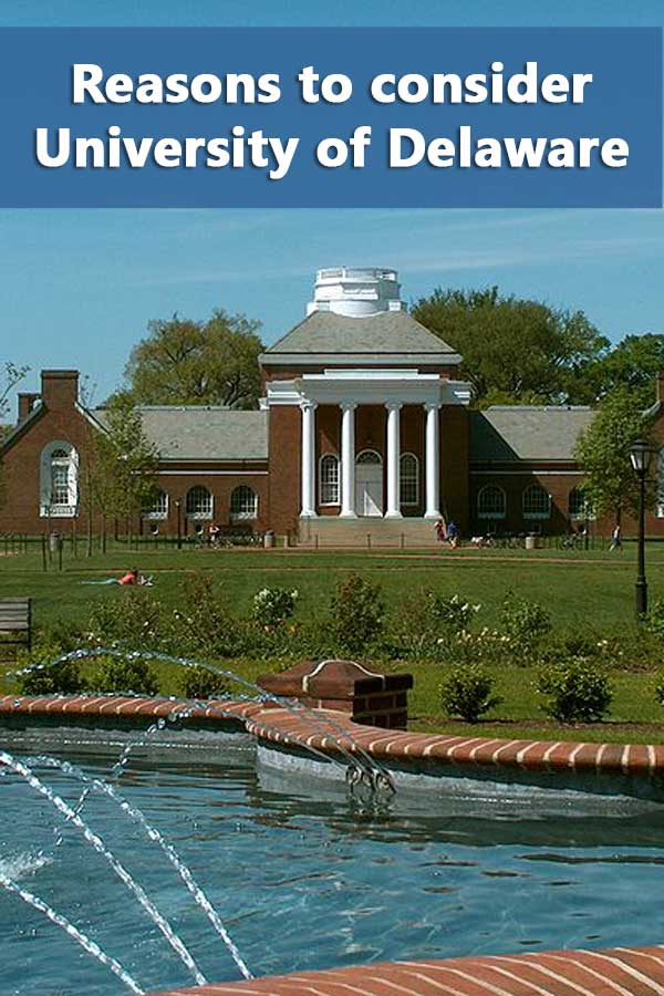50-50 Profile: University of Delaware