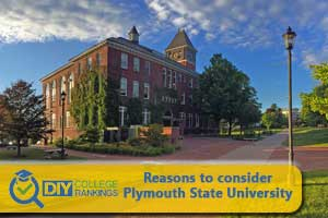 Plymouth State University campus
