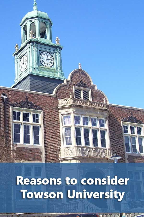 50-50 Profile: Towson University