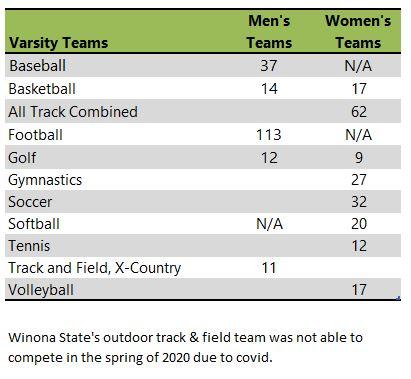 Winona State University athletic teams