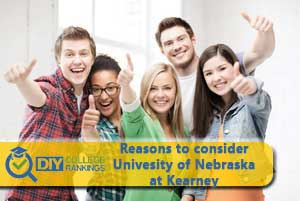 students happy about University of Nebraska at Kearney