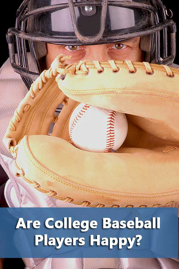 Only half of the D2 and D3 players said they were glad that they made the choice to be at this school. In fact, less than half of D2 and D3 baseball players would recommend this school to a prospective student-athlete, the lowest among all the sports reported.