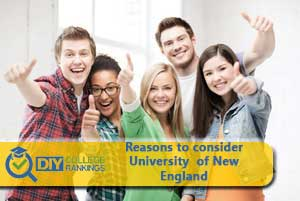 Students happy about University of New England