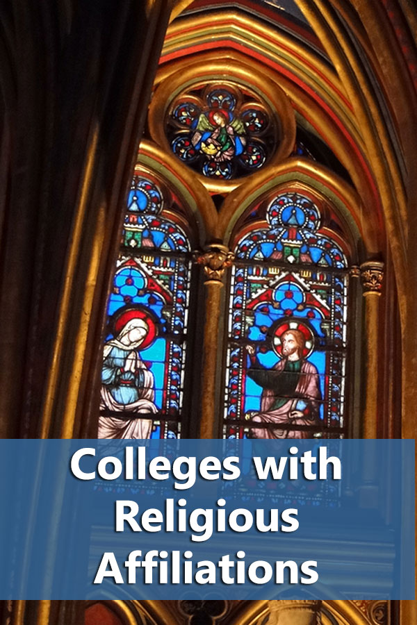 Listing of colleges with religious affiliations that accept at least 50% of students and have at least a 50% graduation rate.