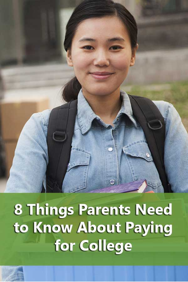 8 Things Parents Paying for College Must Know