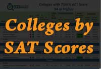 College Lists by SAT Scores