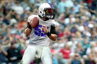 Quarterback representing bigtime sports at SEC Schools