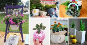 Amazing DIY Planter Ideas House Hold Items