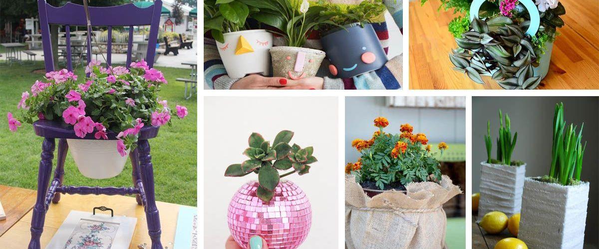 Amazing DIY Planter Ideas House Hold Items