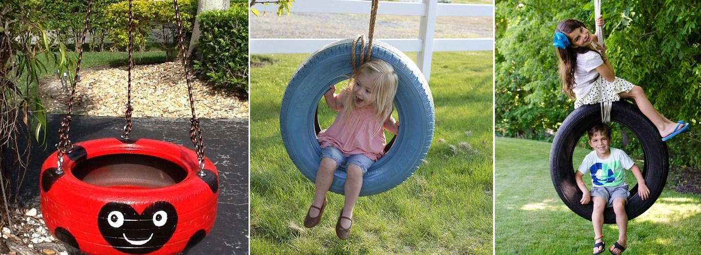 How to Kids Tire Swing