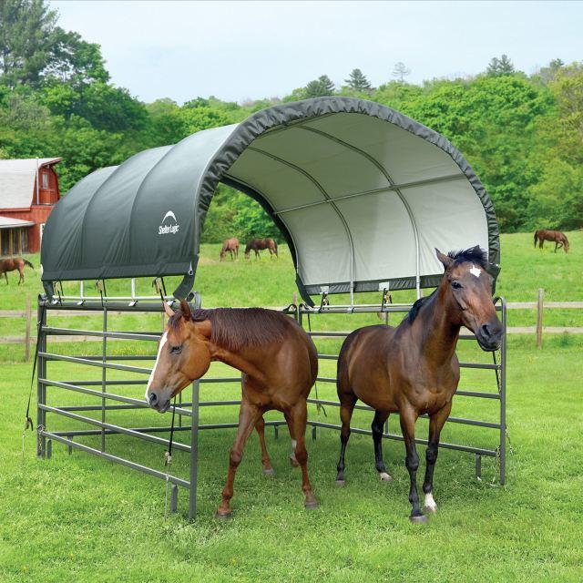 cheap horse shelter