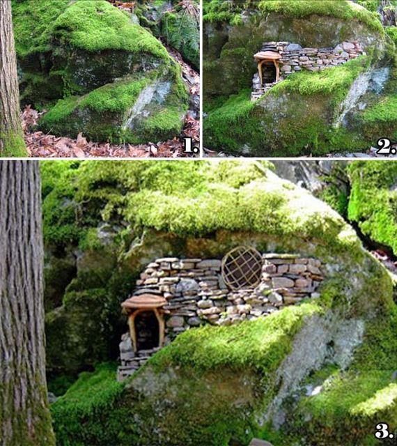 Cutest Miniature Stone Houses Diycraftsguru