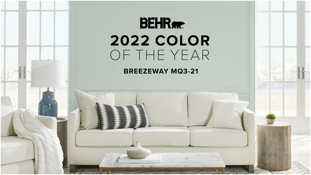 BEHR 2022 Color Of The Year Breezeway MQ3-21