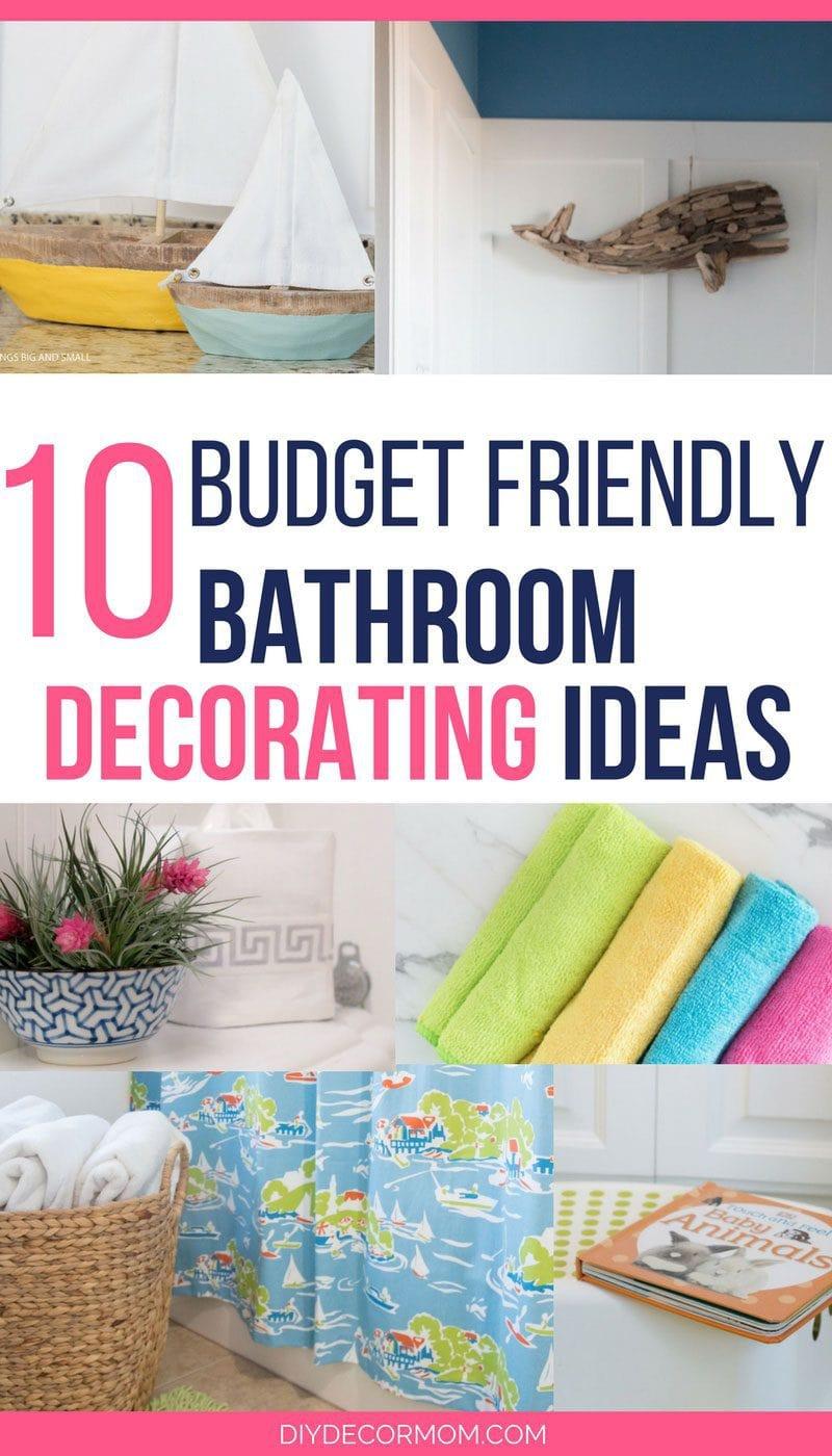 Bathroom Decorating Ideas: The Best Budget-Friendly Ideas on Bathroom Ideas On A Budget  id=99861