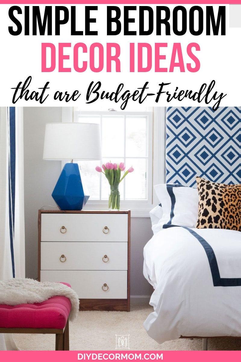 Simple Bedroom Decorating Ideas: 16+ Genius Ideas To Use ... on Room Ideas Simple  id=42952