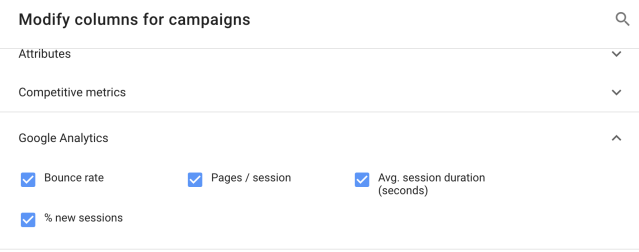 Google Analytics linking to Google Ads