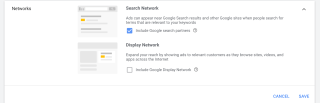 Google search partner network