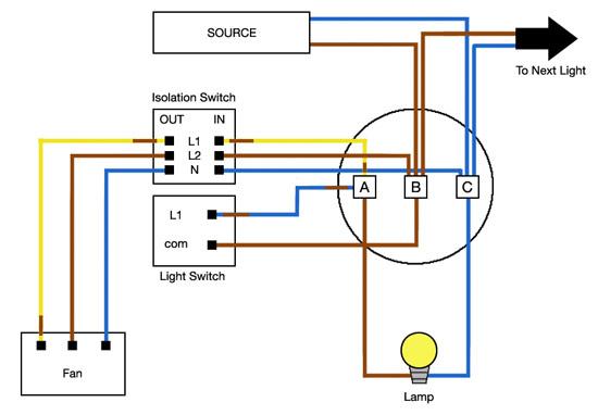 bathroom fan isolator wiring diagram  2000 gmc sierra fuse