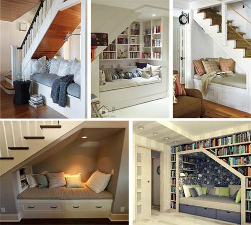 13 Storage Ideas To Maximise The Use Of The Area Under Your Stairs | Space Under Staircase Design | Indoor | Clever | Innovative | Wooden | Understairs