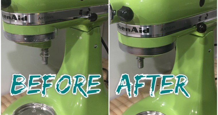 Deep Clean Your Kitchen Aid Mixer
