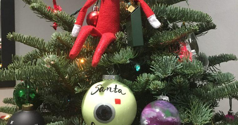 DIY Santa Camera Ornament