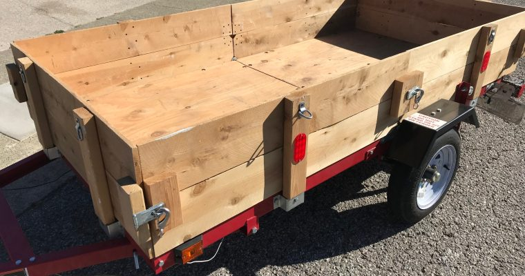 Foldable Custom Trailer