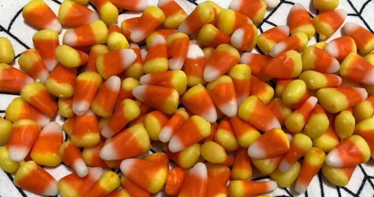 Candy Corn Pinwheel Cookies