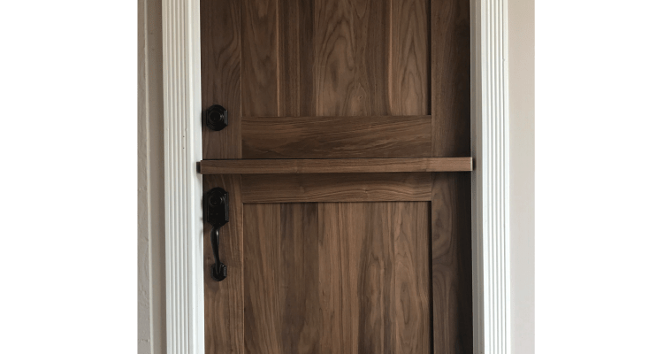 "Building our Walnut Dutch Door (or ""DIY Door-ty"")"