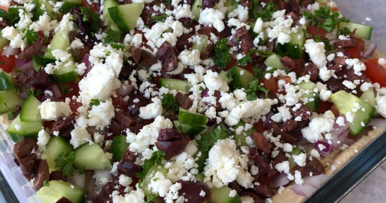 Greek Salad Dip