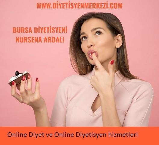 Online Diyet ve Online Diyetisyen Hizmetleri, Bursa Uzman Diyetisyen & Fitoterapist Nursena Ardalı