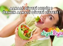 alkali diyeti nedir