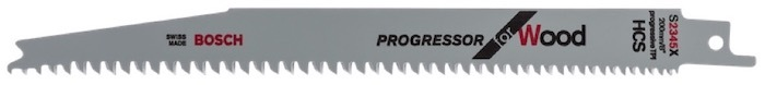 A wood-specific blade for the Bosch PSA 700E