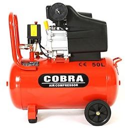 Image of the 50L Cobra air compressor