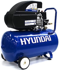 Image of the portable air compressor, the Hyundai HY2550