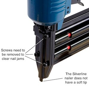 The Silverline 868544 nose area